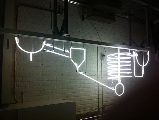 Neon Tekst Verlichting. Ford Shelby Cobra Bar Neon Lamp Verlichting ...