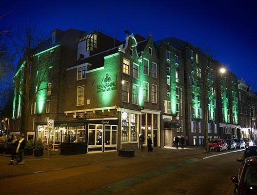 gevelreclame in Amsterdam